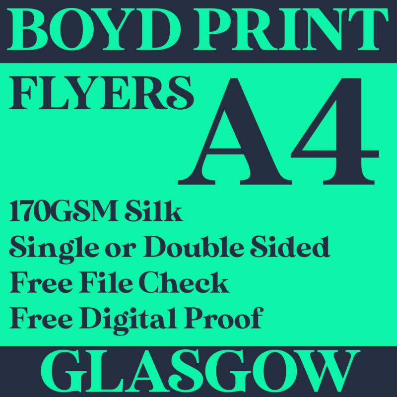 2000 A4 Single Sided Business Flyers