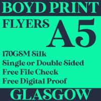 500 A5 Single Sided Business Flyers