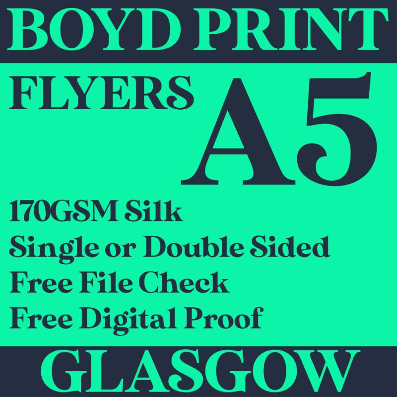 5000 A5 Single Sided Business Flyers