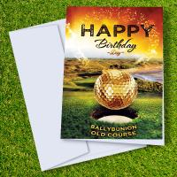 Ballybunion Golf Course Birthday Card